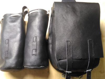 Подвесные сумки для строевых седел (6500руб.)